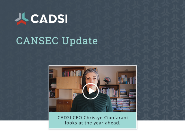 CANSEC Update. CADSI CEO Christyn Cianfarani looks to the year ahead. Watch her message: bit.ly/36ETack